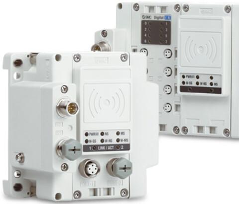 Trådløst fieldbussystem - EX600-W fra SMC