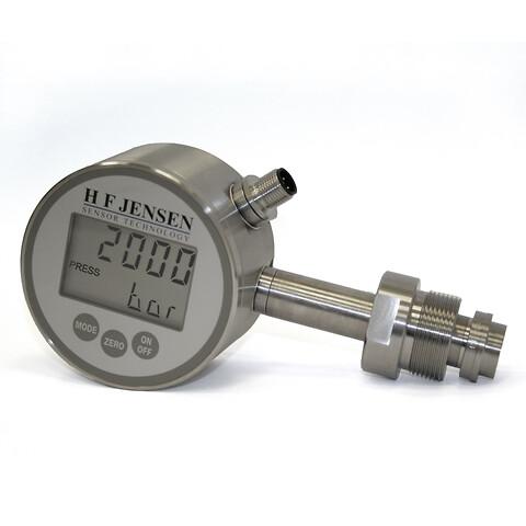 Meget korrosionsbestandigt manometer