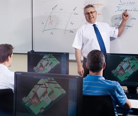 Tebis grundkurs i CAD och 2,5D för NC-operatörer