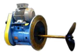 Sidemonterede rørværker/mixere