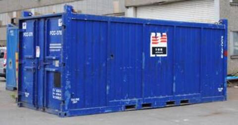 Utleie av offshore/onshore containere -IKM Hydraulic Services  - Offshore container, container, oppbevaringscontainer