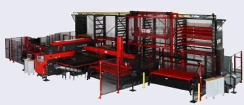 Amada CS II 300 lagersystem