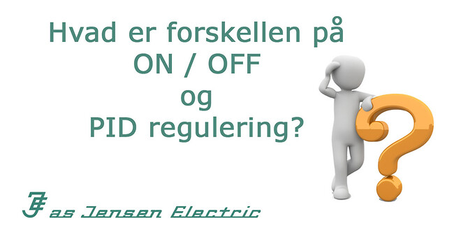 on/off PID regulering