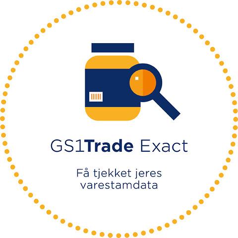 GS1Trade Exact - Kvalitetstjek af logistik- og labelinfo - GS1 Denmark\nGS1Trade Exact\nstregkoder\nstamdata\nstandarder\nKvalitetstjek af logistik- og labelinfo