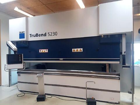 TRUMPF TruBend 5230 S - Brugt TRUMPF Knatpresse TRUBend 5230S pressekraft 2300 kN og 4250 mm