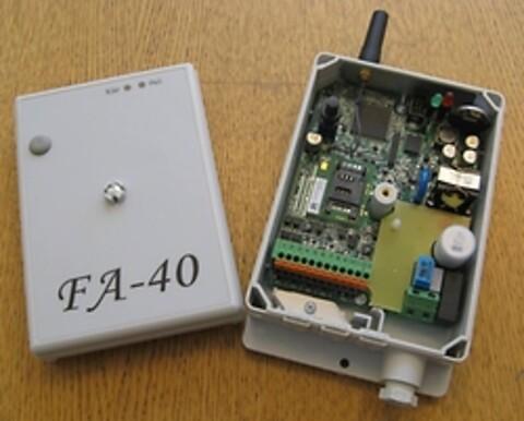 FA-40 Datalogger med GSM/GPRS/SMS modem