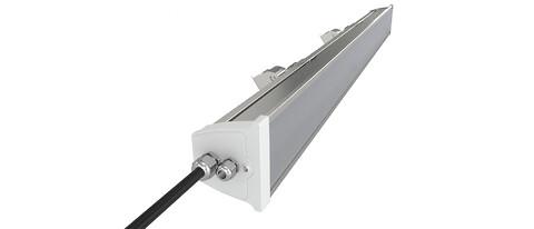 Robust LED armatur för exponerade miljöer