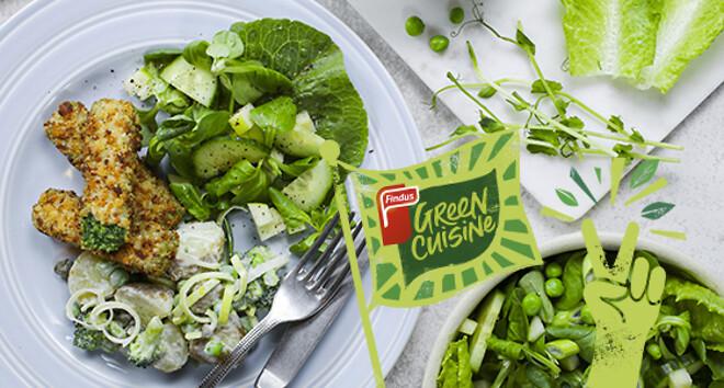Green Cuisine, plantebaserede frosne produkter, klimavenlige