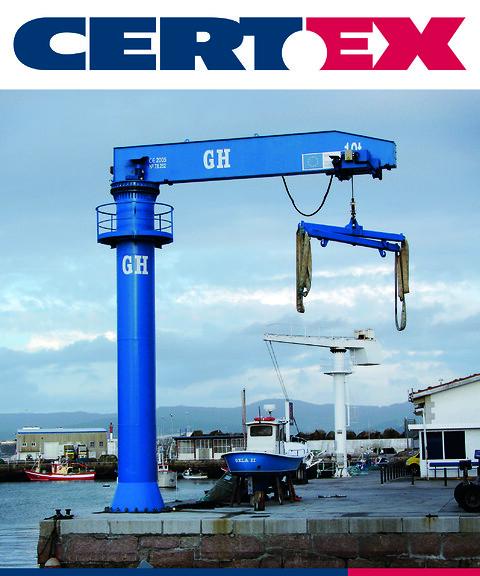 Søjle- og vægsvingkraner - CERTEX-GH svinkran