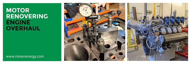 Renovering gasmotor