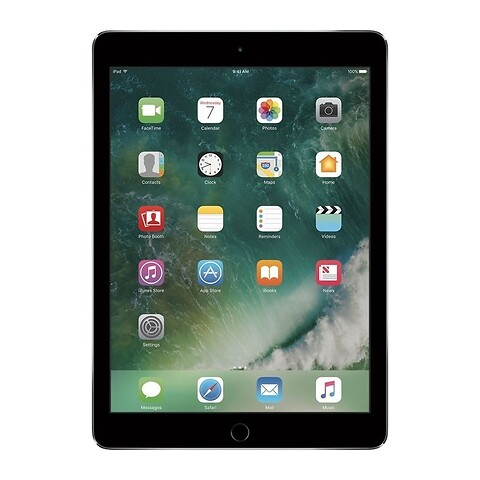 Apple iPad 6 128GB WiFi (Space Gray) - 2018 - Grade C - tablet