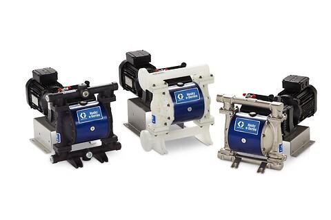 Elektriske membran pumper fra Norclean AS
