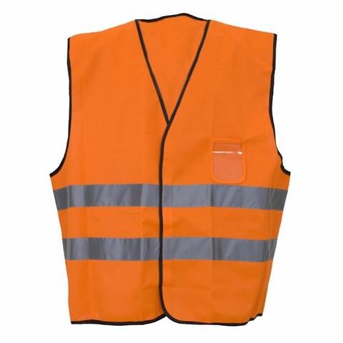 Sikk. vest, orange str. l KL.2