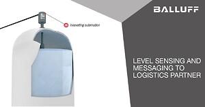 level sensor, automasering, nivåmätare, Balluff,