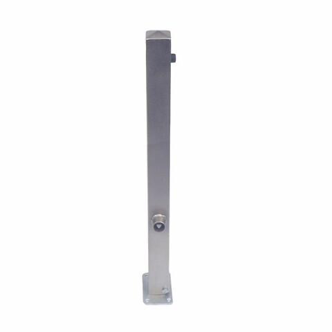 Pullert 70x70 mm rustfri / flytbar