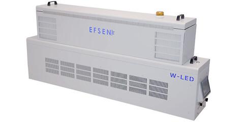 W-LED med ICAD® inside – UV LED enhed til hærdning af lak og trykfarver