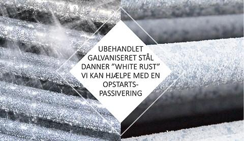 White Rust- Kølekondensatorer & Opstartspassivering  - White Rust