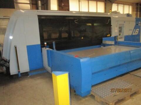Brugt Finnpower laserskærer type L6  4 kilowatt sælges