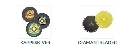 Alf I. Larsen AS selger kappeskiver og diamantblader