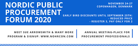 Procuretech as a Tool for Digitalization - Nordic Public Procurement Forum 2020 - Nohrcon