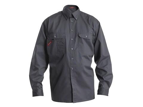 Skjorte standard comfort grå - str. 41-42