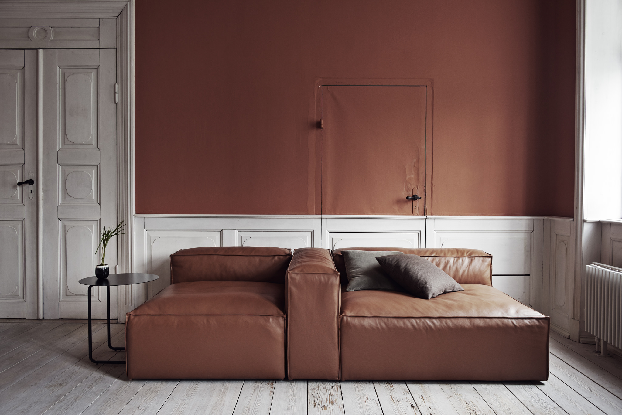 Bolia Sofa traceable leather from field to nordic design