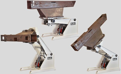 3-Akse roterende sveisebord 2000 kg