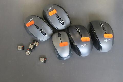 5 stk. trådløs mus logitech