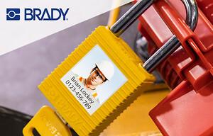 Personanpassade Brady SafeKey-hänglås