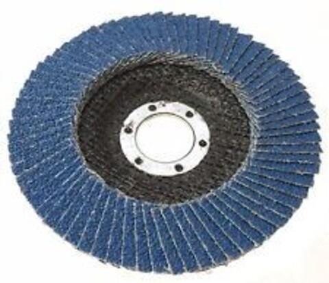 Parweld lamelskive – zirconium Ø125,K40