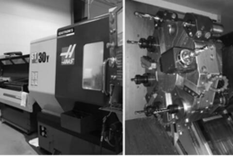 CNC Drejebænk Y-aksel - Haas ST-serien er et højtydende drejecentre, som er designet til at give opsætningsfleksibilitet, ekstrem stivhed og høj termisk stabilitet.