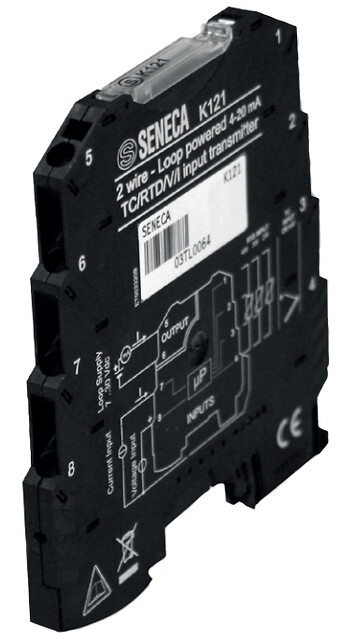 Loop powered universal transmitter