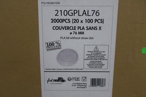 13000 stk. pla låg uden hul firstpack 210GPLAL76