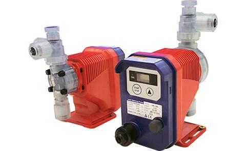 2 nye IWAKI pumpestørrelser nærmest tredobler kapaciteten for disse doseringspumper - IWAKI pumpestørrelser nærmest tredobler kapaciteten for disse doseringspumper