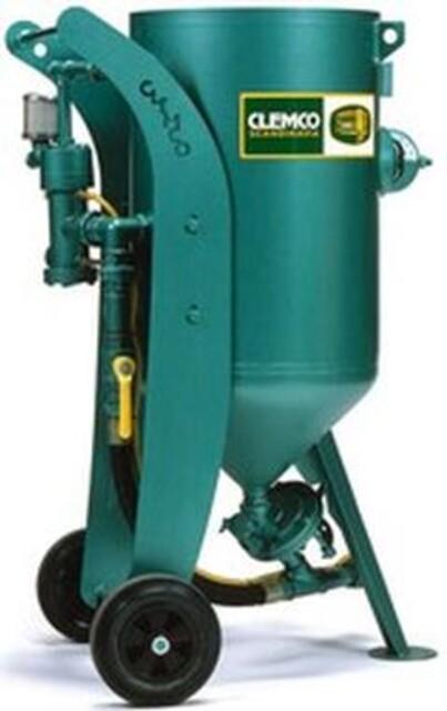 Clemco 140 liters sandblåseapparat fra Vestec