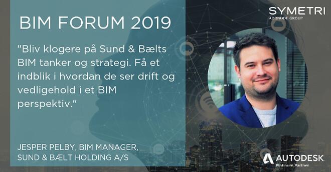 Hør om Sund & Bælt BIM tanker og strategi på BIM Forum d. 17/9 2019.