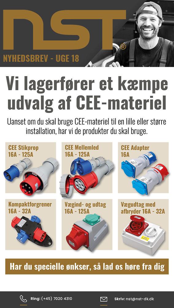NST CEE-materiel