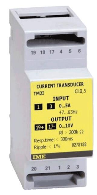 Enkeltfase vekselstrømstransducer
