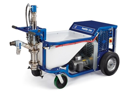 Graco toughtek f680 fireproofing sprayer fra Norclean AS