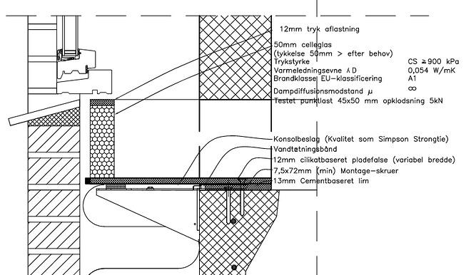 bundløsning, bs false, pladefalse, bæring af vinduer, kantudstøbning, bæringer, etagebyggeri,