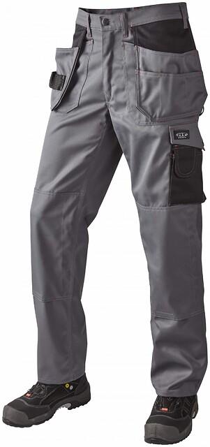 Arbejdsbukser, 9204 - grå/sort
