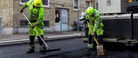NCC Asfalt - Asfaltering af gader, veje og pladser - NCC Asfalt, Asfalt arbejde