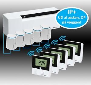 Med IP+ fra Pettinaroli overlader du al indkodning af COMFORT IP gulvvarmesystemet til os