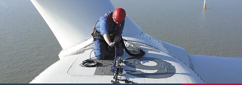Stålwire, løfteudstyr, faldsikringsudstyr & serviceydelser til vindmølleindustrien - Stålwire, løfteudstyr og faldsikring til vindmølleindustrien