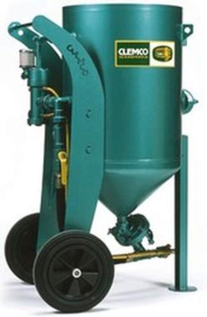 Clemco 200 liters sandblåseapparat fra Vestec
