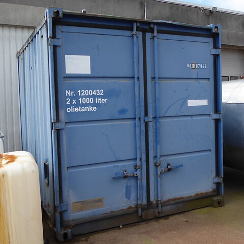 Container m. indhold