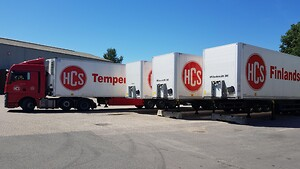 HCS söker efter gods dagligen i Sverige