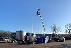 Sakslift, truck og videokameraer