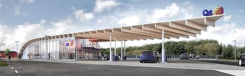 Nye stationer til den tunge trafik