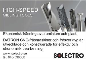 high speed\ntools\nfräsning\naluminium\nplast\nakryl\nkomposit\nmässing\nbrons\ndatron \nsolectro\n